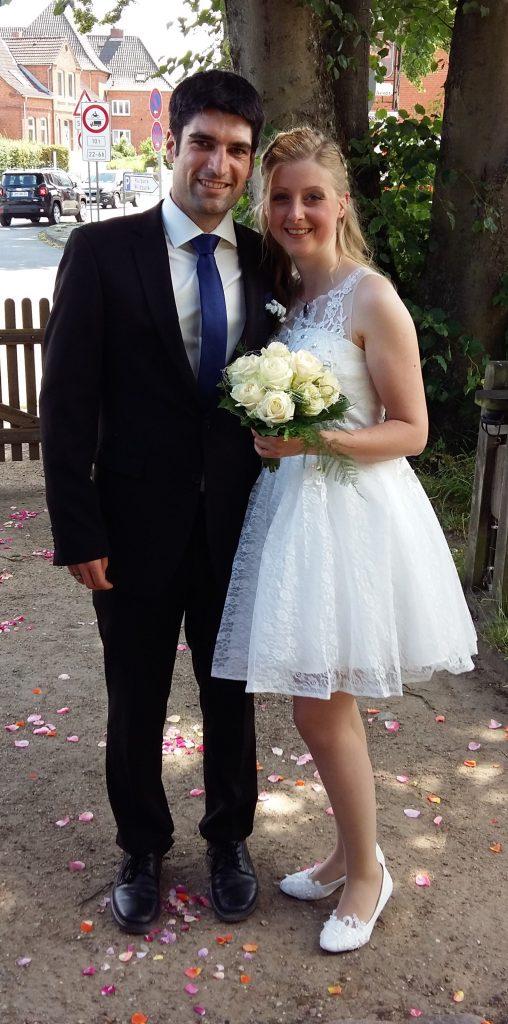 Herr Simonsen hat geheiratet